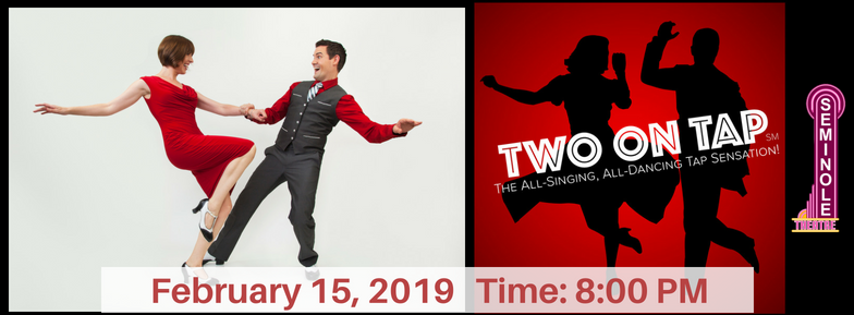Two on Tap Dancing Photo Banner