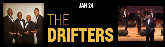 The Drifters on tour at the Seminole Theatre in Homestead Fl