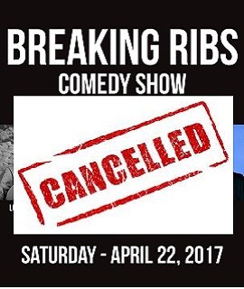 Breaking Ribs Comedy Show With a Special Feature of