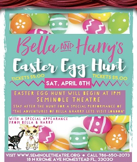 Bella & Harry's Easter Egg Hunt