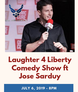 Laughter 4 Liberty Comedy Show Image