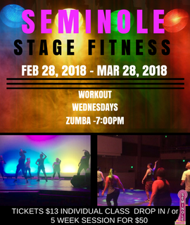Seminole On Stage Fitness - Workout Wednesday - ZUMBA!