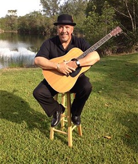 lenny batista at Losner Park in Homestead Florida