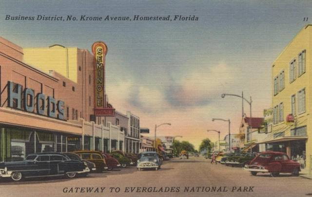 historical Seminole Theatre Photo
