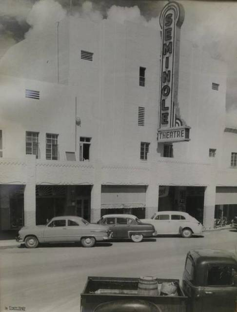 Seminole Theatre Historical Image